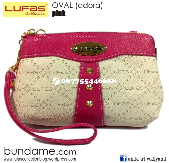 dompet lufas oval pink 2
