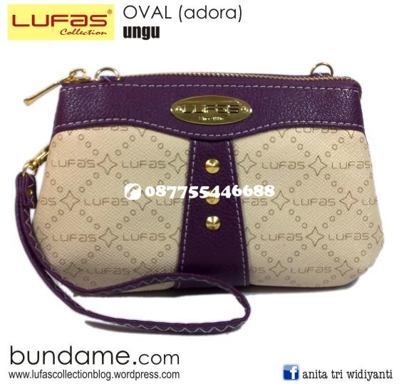 dompet lufas oval ungu 2