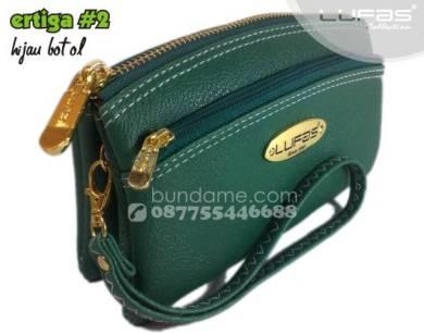dompet lufas R3#2 hijau botol 3