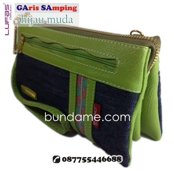 dompet lufas gasa hijau muda 1