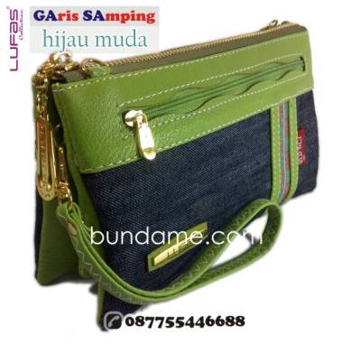 dompet lufas gasa hijau muda 3