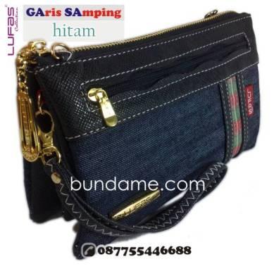 dompet lufas gasa hitam 1
