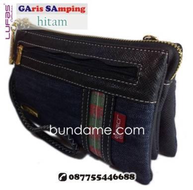 dompet lufas gasa hitam 2