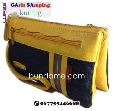 dompet lufas gasa kuning 1