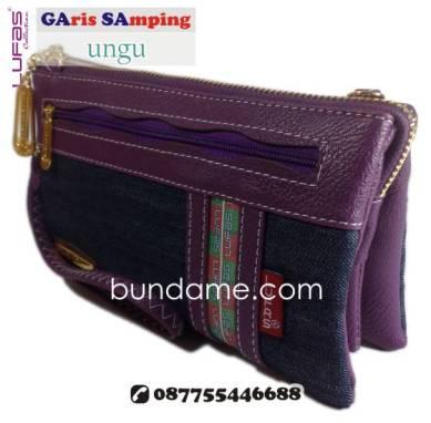 dompet lufas gasa ungu 1