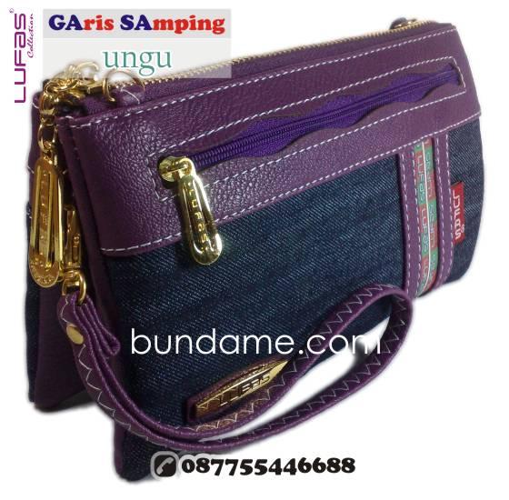 dompet lufas gasa ungu 3