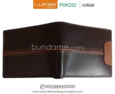 dompet kulit laki pdk222 coklat 2