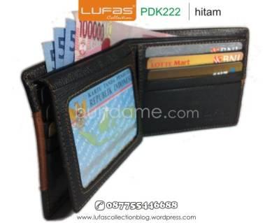 dompet kulit laki pdk222 hitam 2