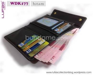 dompet lufas WDK177 hitam 1