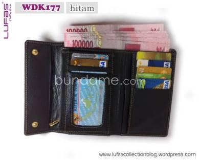 dompet lufas WDK177 hitam 2