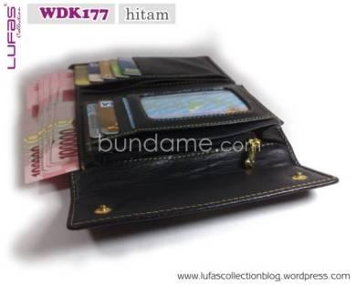 dompet lufas WDK177 hitam 3