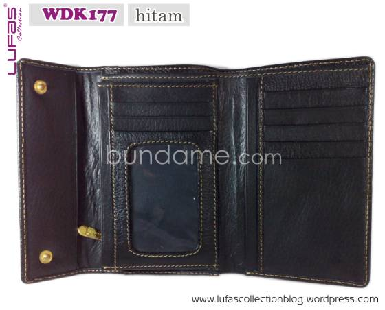 dompet lufas WDK177 hitam 4