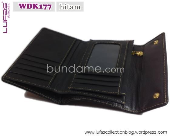 dompet lufas WDK177 hitam 5