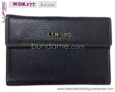dompet lufas WDK177 hitam 8