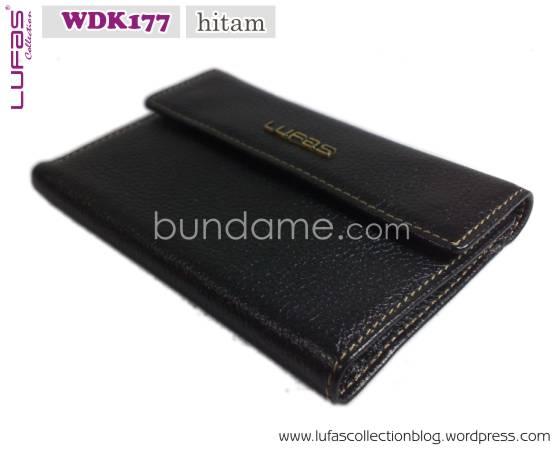 dompet lufas WDK177 hitam 9