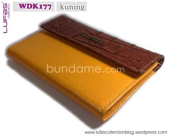 dompet lufas WDK177 kuning 1