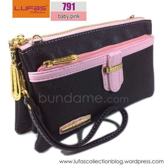dompet lufas T791 baby pink