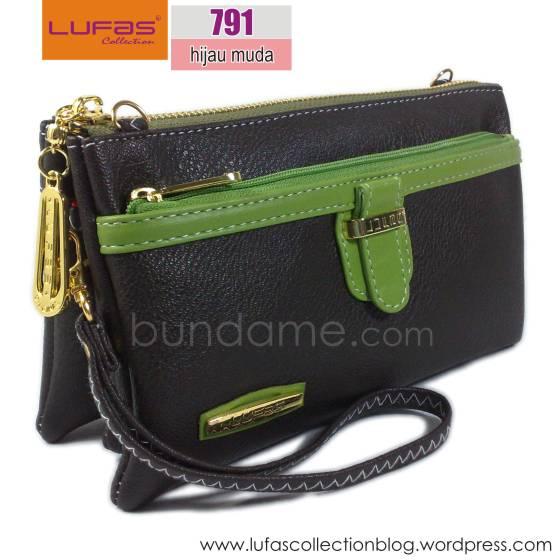 dompet lufas T791 hijau muda