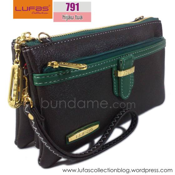 dompet lufas T791 hijau tua