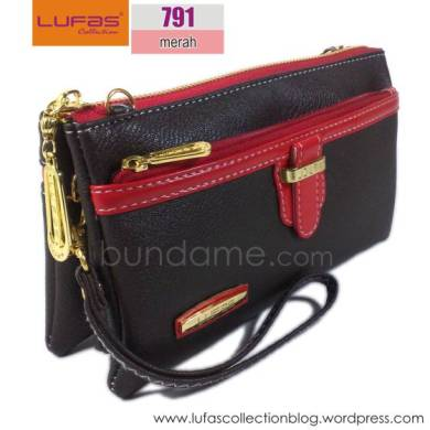 dompet lufas T791 merah