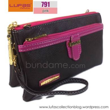 dompet lufas T791 pink