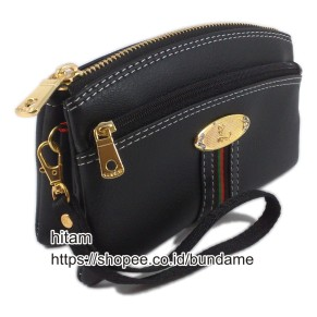 dompet lufas 802 hitam