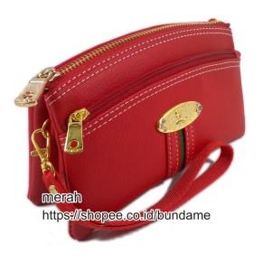 dompet lufas 802 merah