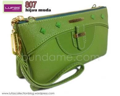 dompet lufas 807 hijau muda 1