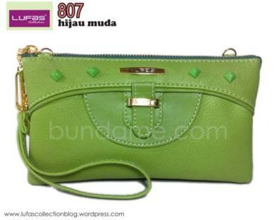 dompet lufas 807 hijau muda 2