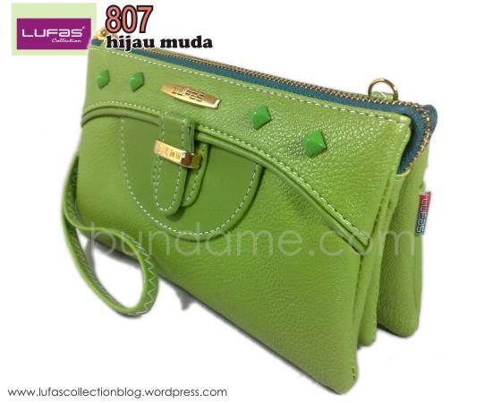 dompet lufas 807 hijau muda 3