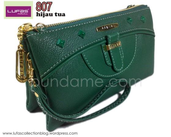 dompet lufas 807 hijau tua 1