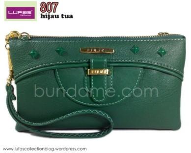 dompet lufas 807 hijau tua 2
