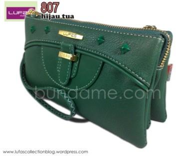 dompet lufas 807 hijau tua 3