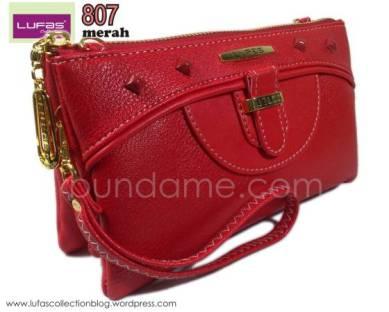 dompet lufas 807 merah 1