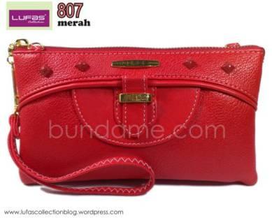 dompet lufas 807 merah 2
