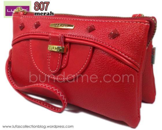 dompet lufas 807 merah 3