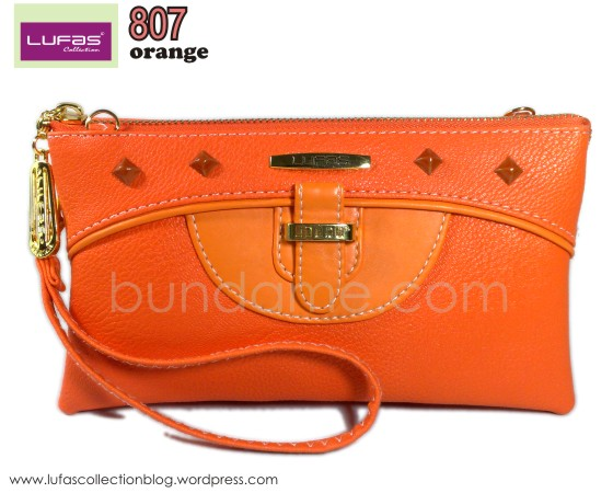 dompet lufas 807 orange 2