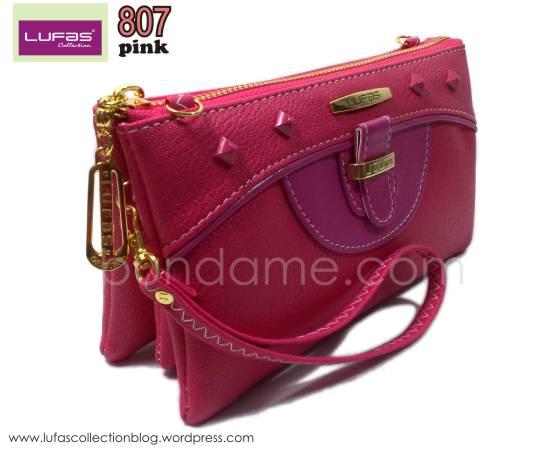 dompet lufas 807 pink 1