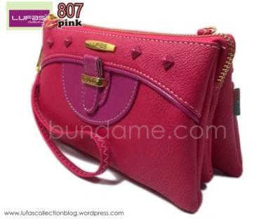 dompet lufas 807 pink 3