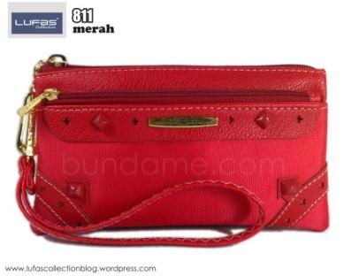 dompet lufas 811 merah