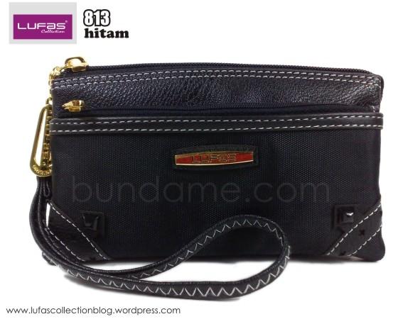 dompet lufas 813 hitam