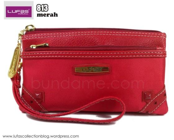 dompet lufas 813 merah