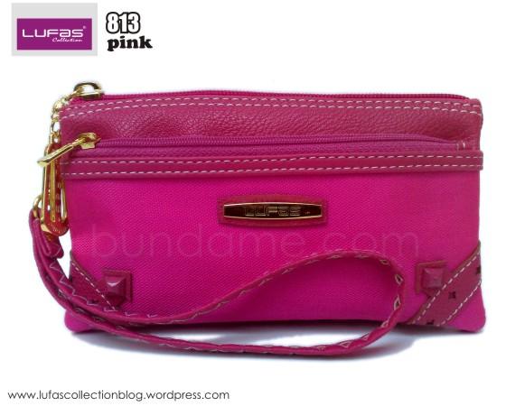dompet lufas 813 pink