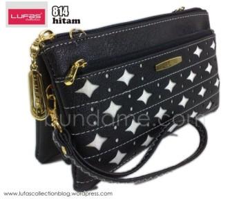 dompet lufas 814 hitam
