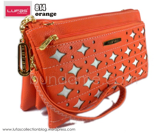 dompet lufas 814 orange