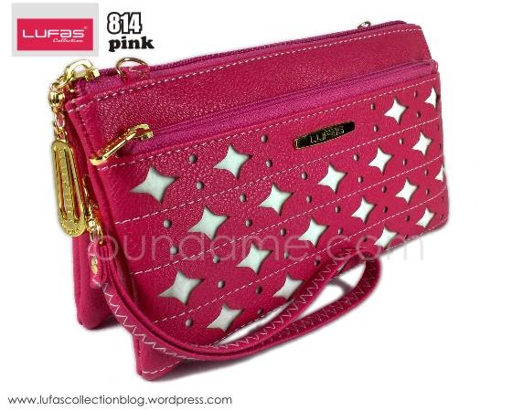 dompet lufas 814 pink
