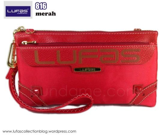 dompet lufas 816 merah 1