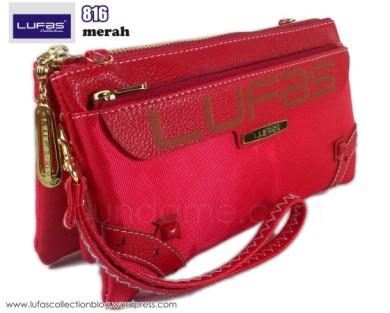 dompet lufas 816 merah 2
