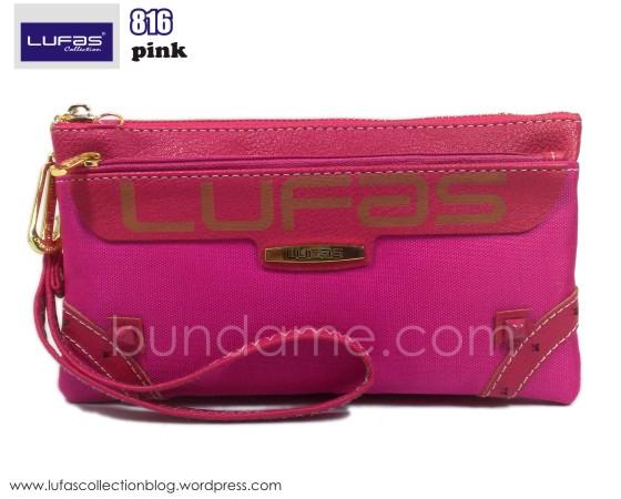 dompet lufas 816 pink 1