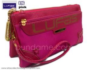 dompet lufas 816 pink 2